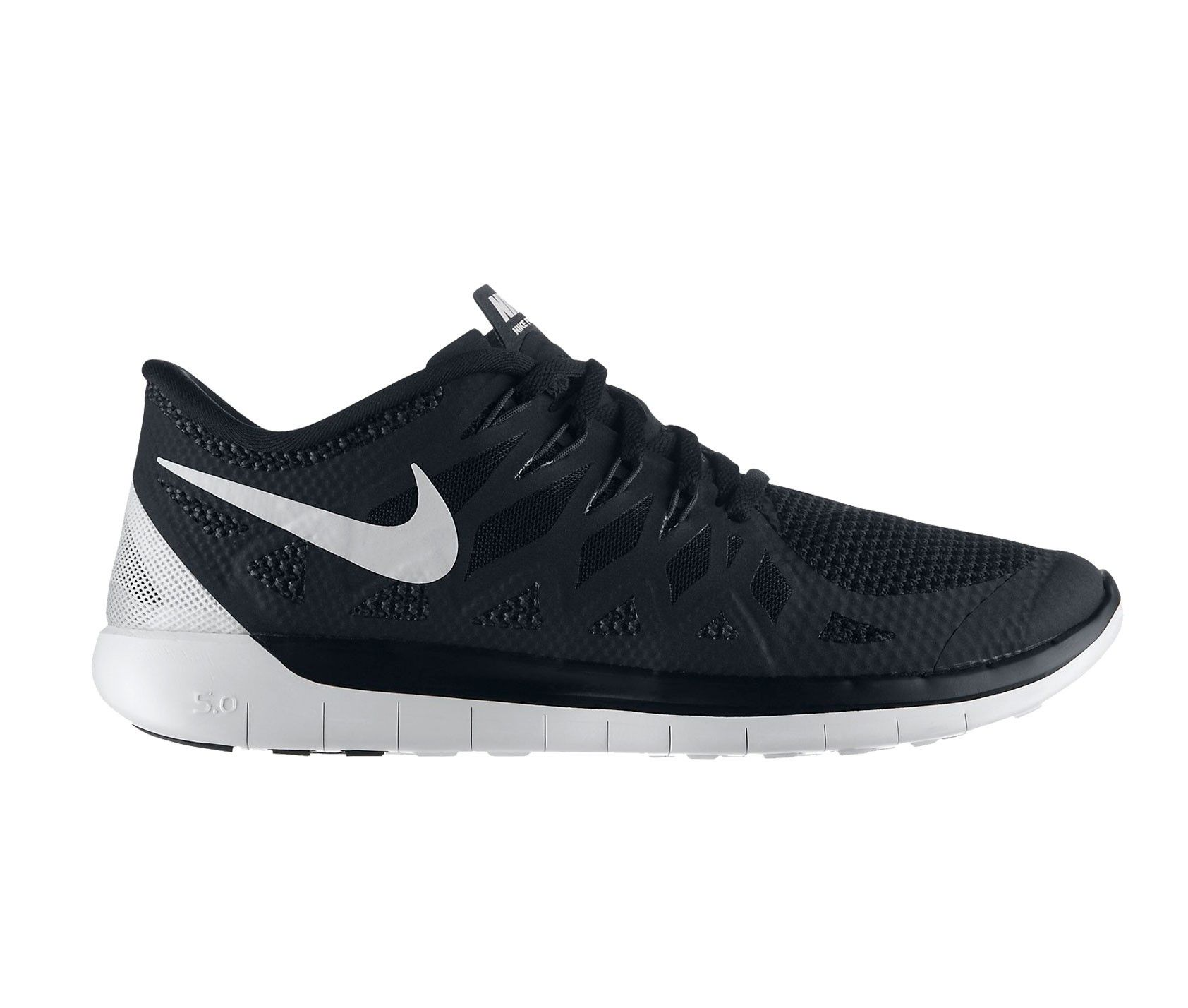 hot sale online 740e7 17c31 NIKE FREE 5.0 NEGROBLANCO MUJER