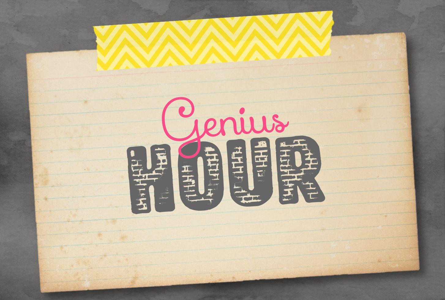 Ideas For Managing Genius Hour In The Classroom