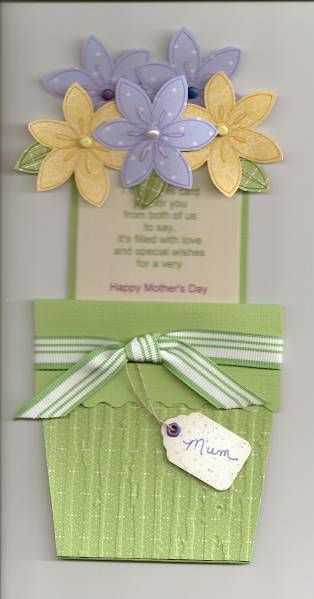 mother's day flower pot ij0509 inside  mothers day flower