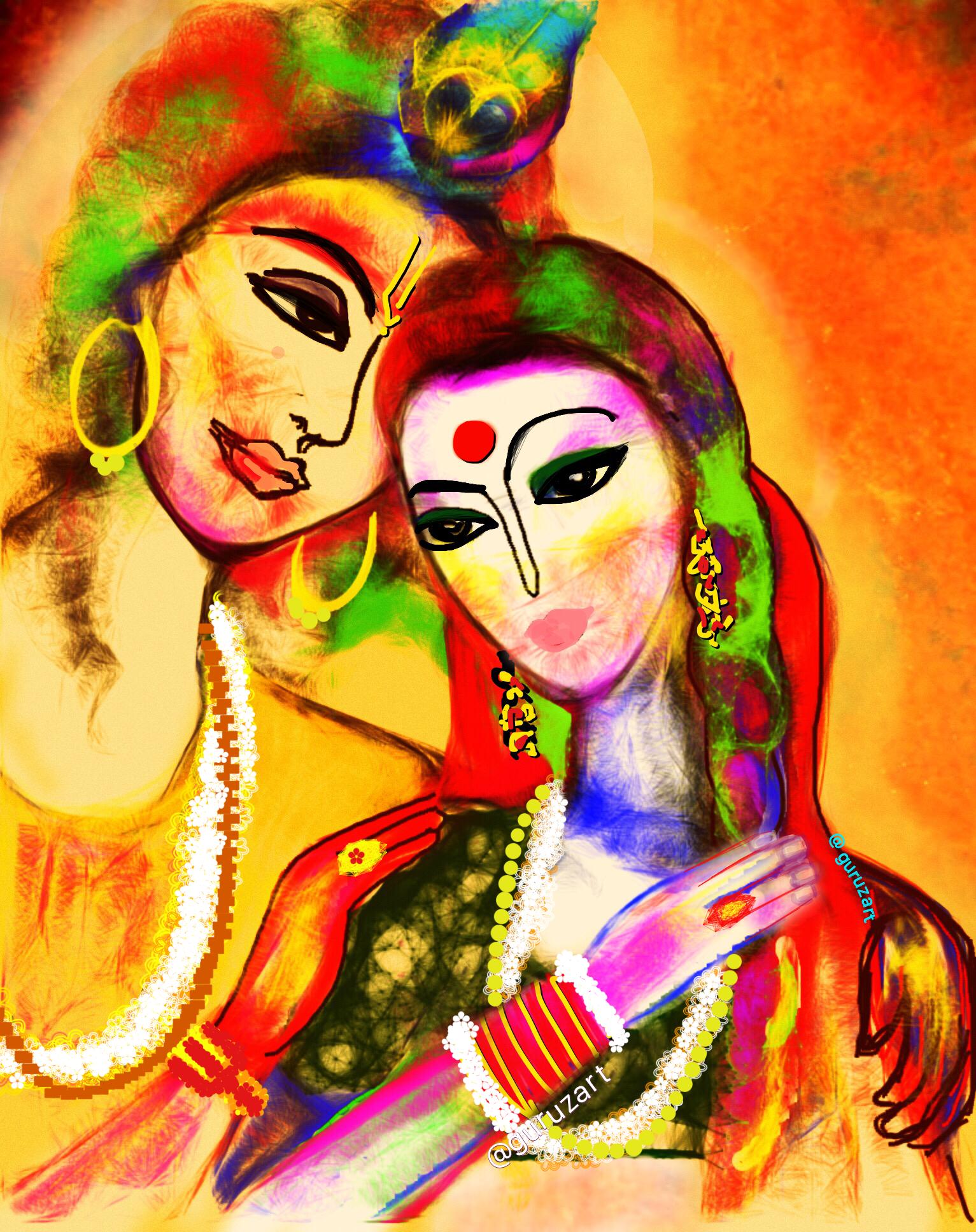 Happy holi radha krishna images - Radha Krishna Happyholi