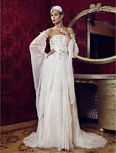 bainha / coluna strapless do assoalho-comprimento vestido de... – EUR € 105.59