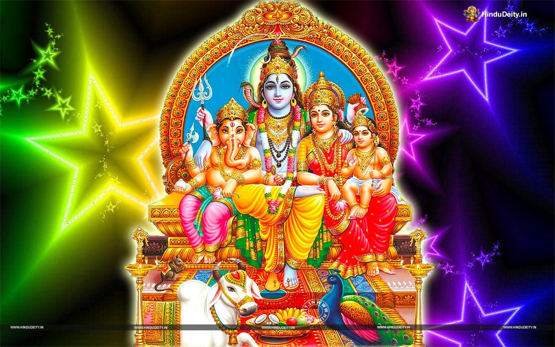 Shiv Parivar Wallpaper For Desktop Free Download Shiv Parivar