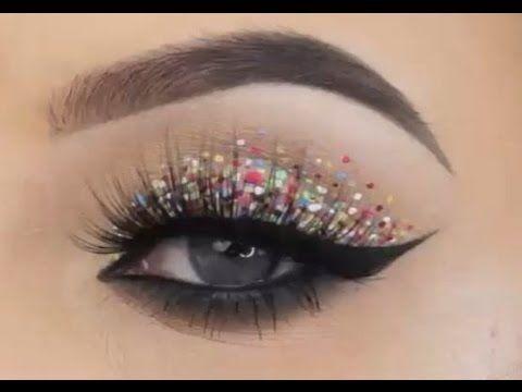 Best Confetti Eye Makeup Tutorial 2017 Beautiful Eye Makeup