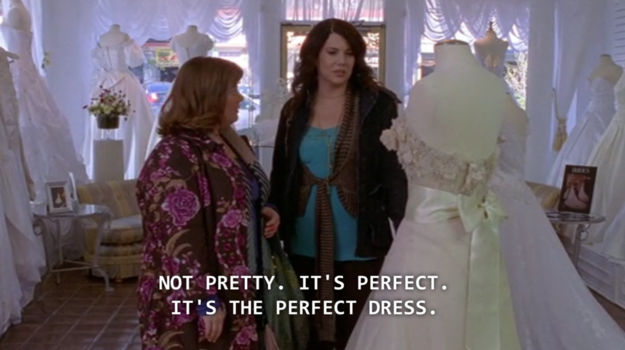 """She basically was only there to delay the moment (Luke and Lorelai's wedding) that fans had been waiting for … for YEARS. 
