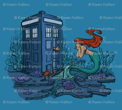 I can order this as FABRIC!!! <3 Karen Hallion!!!!!