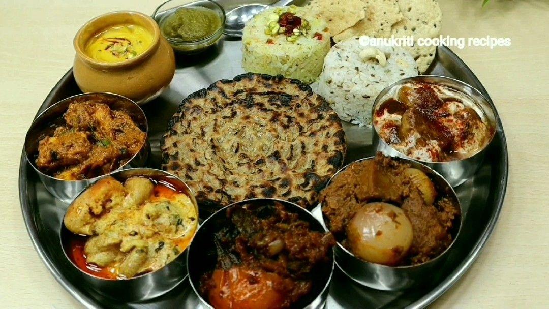 Veg Thali Recipe Anukriti Cooking Recipes Youtube Veg Thali Cooking Recipes