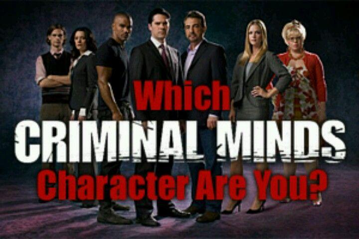 Pin By Victoria Alexus On Tv Criminal Minds Criminal Minds Characters Criminal Minds Personality Quiz