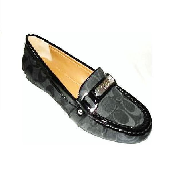 Coach Monogram Square-Toe Loafers cheap wholesale price clearance extremely ECoL5XDIRB