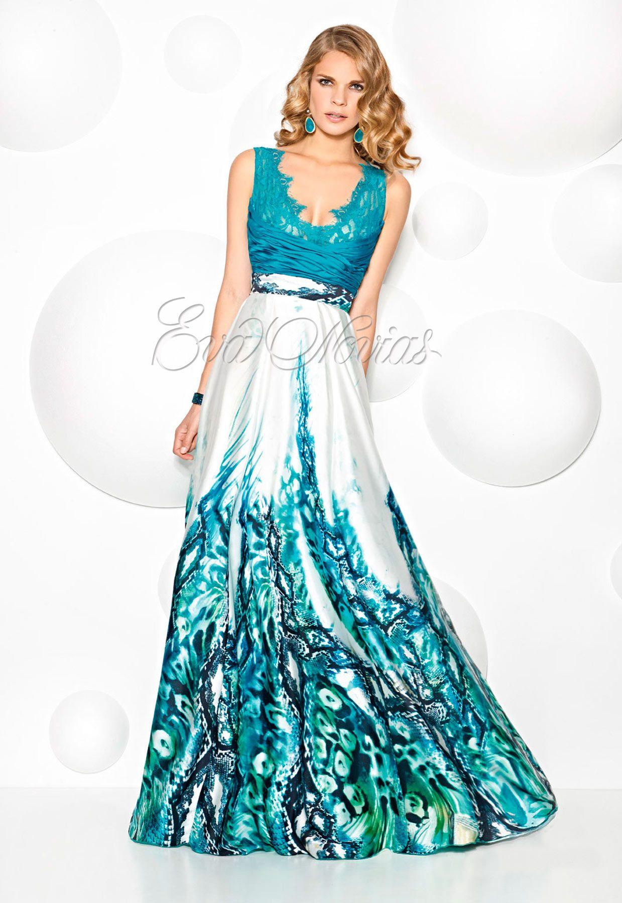 Vestido de fiesta Cabotine modelo 6884 en Madrid. #vestidosdefiesta ...