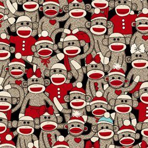 Sock Monkeys by Windham Fabrics