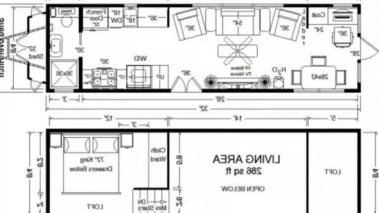 Home Floor Plans Tiny Houses Also 20 Foot Shipping Container House