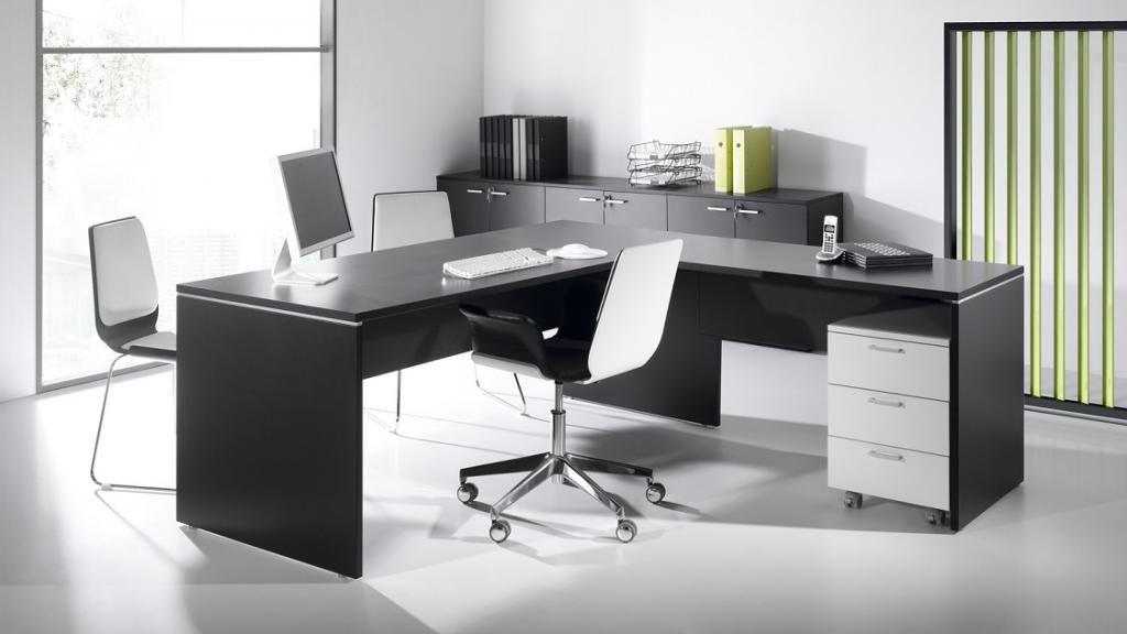 Bureau noir et blanc bureaux blanc et noir montpellier nmes