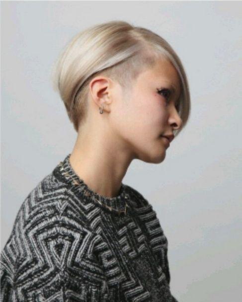 Femaleundercutlonghairhair Pinterest Undercut - Undercut hairstyle front view