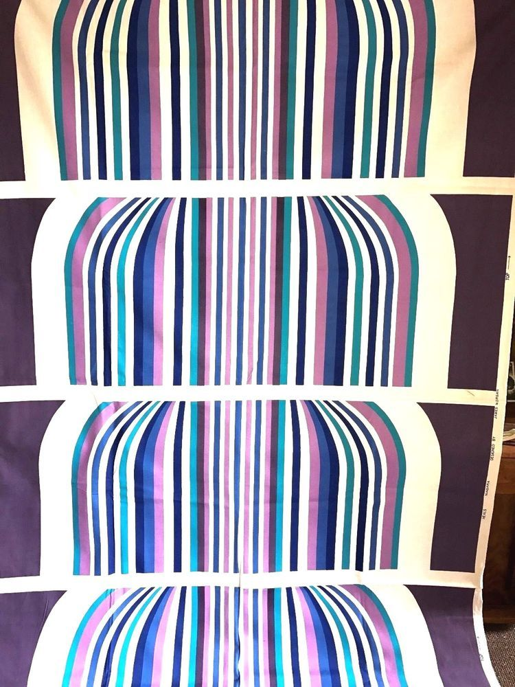 Details about 1960s POP OP ART HEALS \'NIAGRA\' FABRIC LUCIENNE DAY ...
