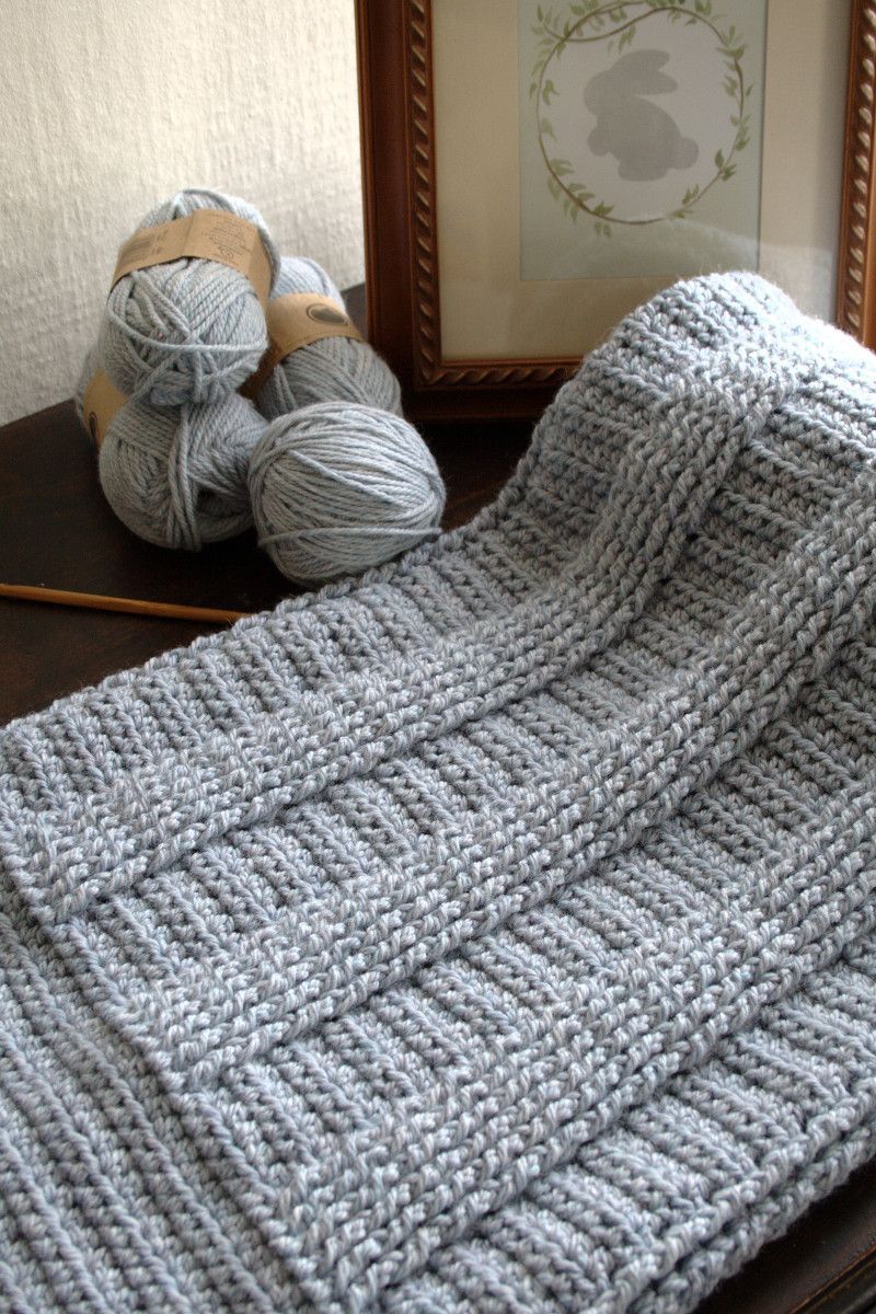 Crochet Pattern - Berry Hedge Baby Blanket P127 | Rebozos y colchas ...