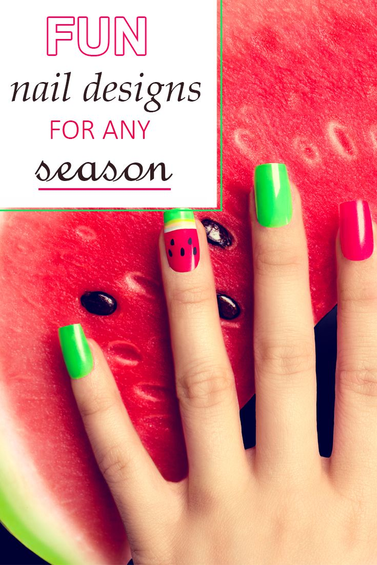 Fun Nail Designs For Any Season - | Fabulous nails, Manicure and ...