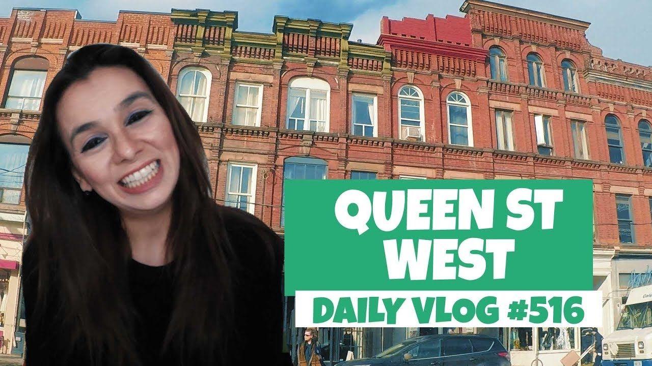 Queen Street West: Conheça o bairro descolado de Toronto | DAILY VLOG #516 https://youtu.be/6SY1TZX2QBA