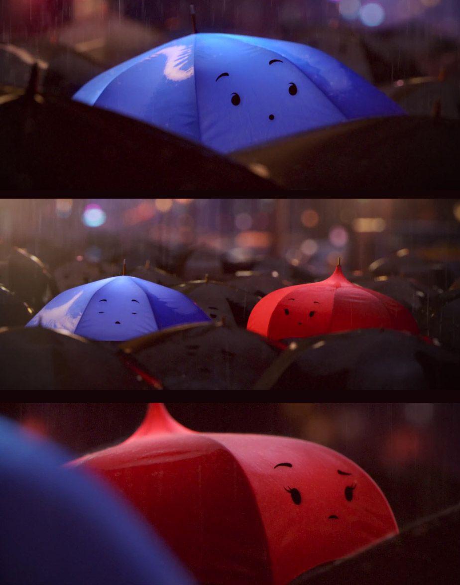 Watch Pixar's 'Blue Umbrella' Teaser   Blue umbrella ...