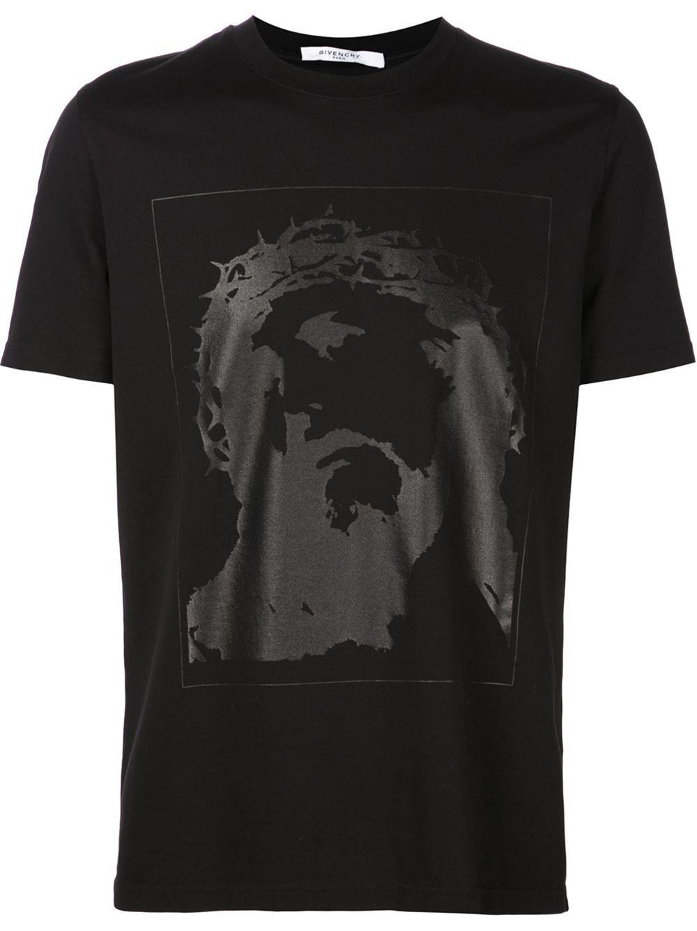 Givenchy Christ print T-shirt