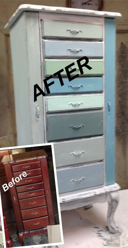 How To Refinish And Paint Garage Sale Furniture And Home Decor