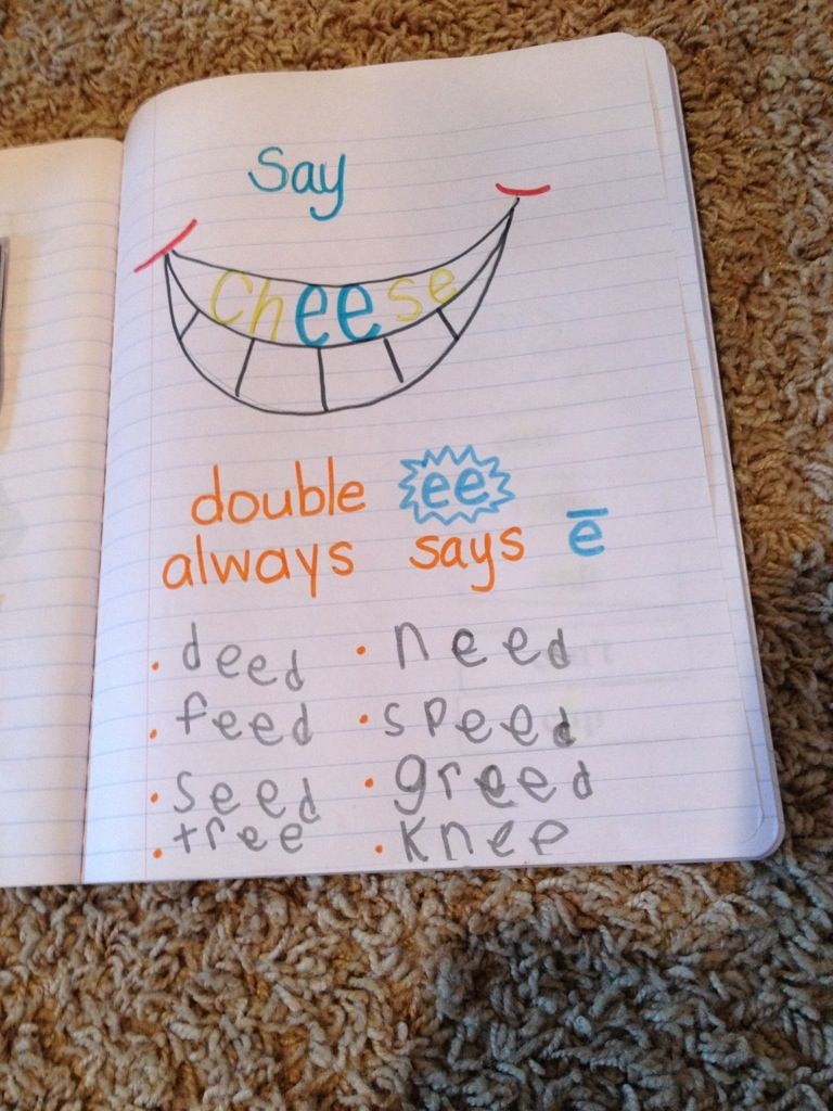 Phonogram Notebooks---I like it! | Phonograms | Phonics rules