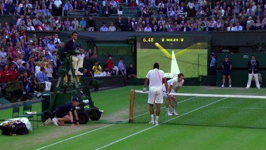 How Accurate Is Hawk Eye Tennis S Ball Caller Tennis Ball Hawkeye Tennis