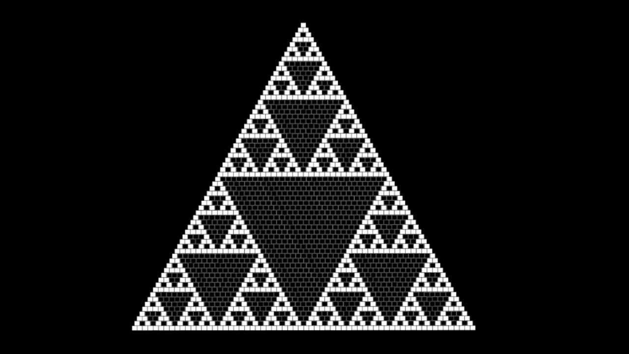 Del Triángulo de Pascal al Triángulo de Sierpinski | Vídeos ...
