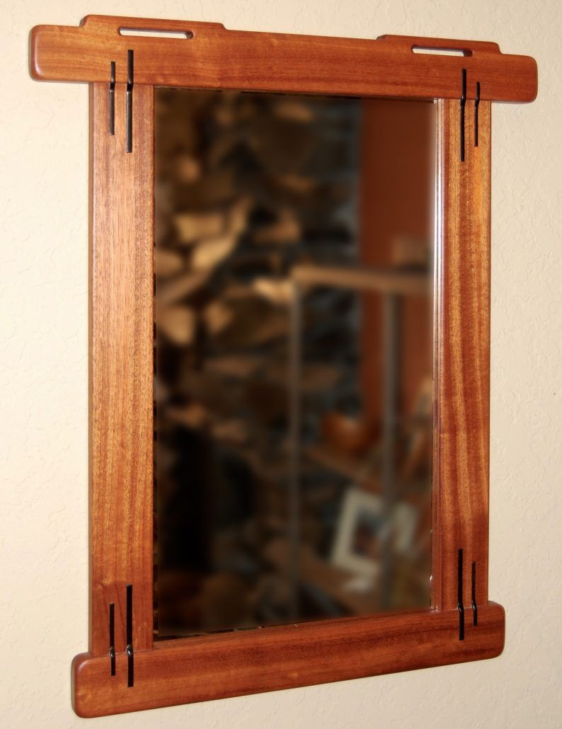 Build A Gamble Style Mirror Frame With George Knutson Darrell Peart Furnituremaker Craftsman Frames Craftsman Mirrors Mirror Frames