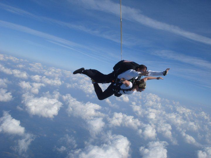Learning What Free Fall Is All About Who Knew I Would Fall In Love Also Jump 1 At Skydive Philadelphia In Perkasie Skydiving Free Falling Falling In Love
