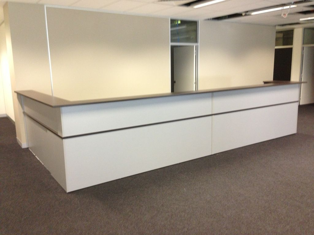 New reception desks counters giant office furniture for Reception furniture