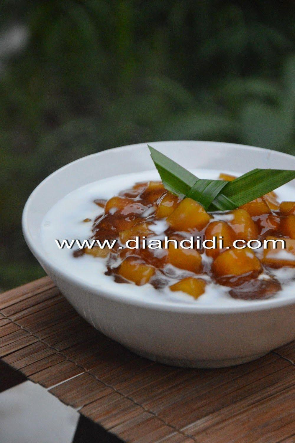Diah Didis Kitchen Bubur Ubi Tapioka Indonesian Food