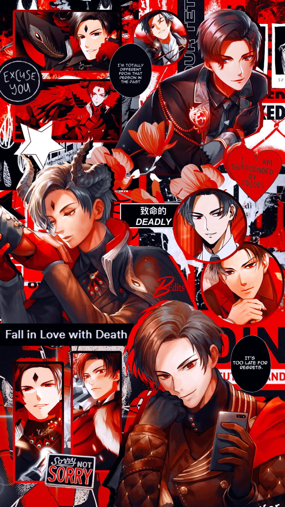 Lucifer Obey Me! in 2020 Obey, Anime wallpaper, Anime