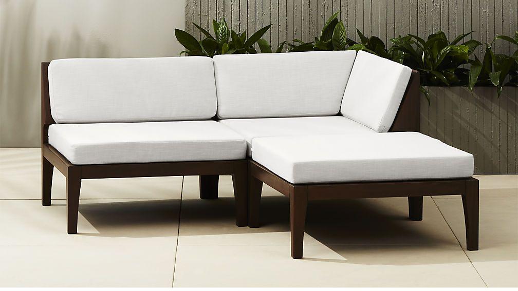 Elba Sectional Cb2 Modern Outdoor Furniture Modern Outdoor