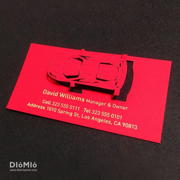 sports car business cards unique business cards pinterest