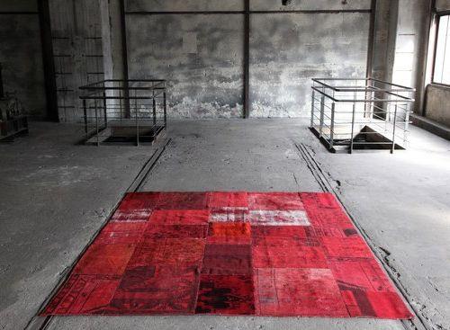 Designer Teppiche bunte designer teppiche rote farben home