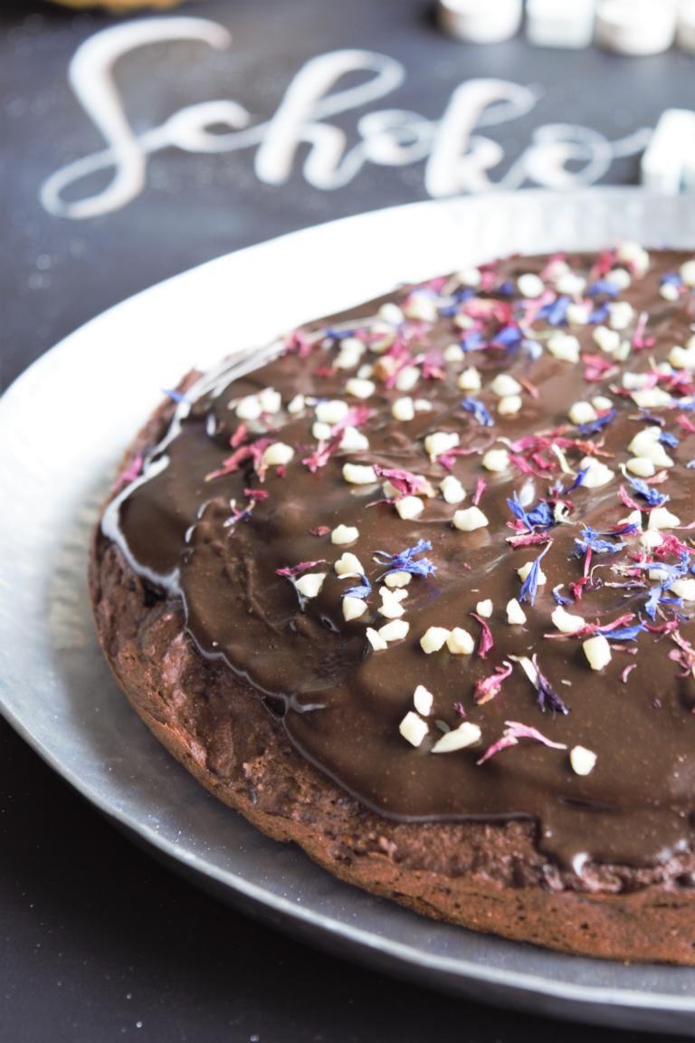 Gesunder Schokokuchen Vegan Frau Janik Schokokuchen Backen Ohne Zucker Veganer Schokoladenkuchen