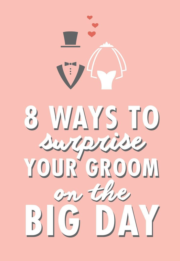 8 Ways To Surprise Your Groom & Make Him Feel Special On The Big Day
