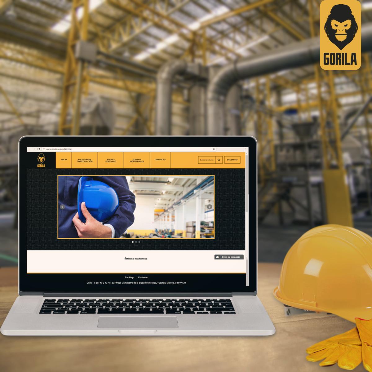 Gorila Seguridad te ofrece todo lo que necesitas en equipo de seguridad industrial, construcción y policíaco. ¡Visita nuestro sitio! http://www.gorilaseguridad.com/ ¡Protección para tus trabajadores!
