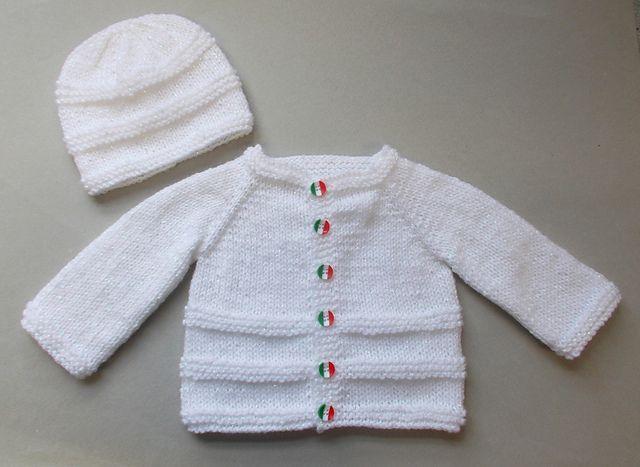 Ravelry: ROMA Baby Cardigan Jacket pattern by marianna mel ...