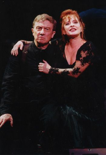 Patti Lupone With George Hearn Sweeney Todd In Concert 2001 With The San Francisco Symphony One Of My Very Patti Lupone Sweeney Todd Tim Burton Beetlejuice