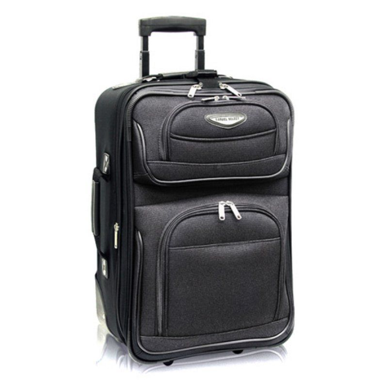cf130ce49f Travelers Choice Travel Select Amsterdam 21 in. Carry-on Lightweight  Expandable Rolling Upright Luggage Bag