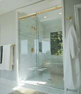 Crl Brass 60 Hydroslide 180 Degree Standard Sliding Shower Door