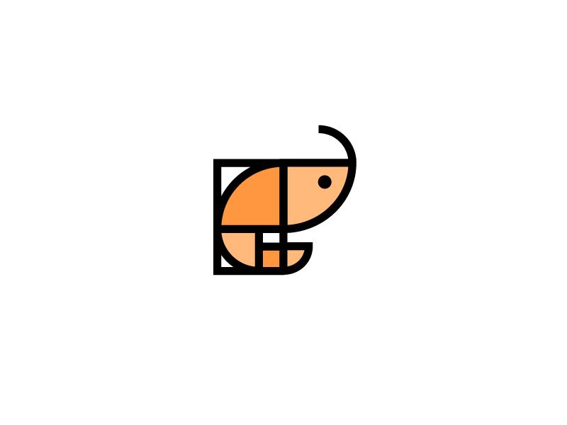 Golden Ratio Shrimp Golden Ratio In Design Restaurant Logo Design Golden Ratio