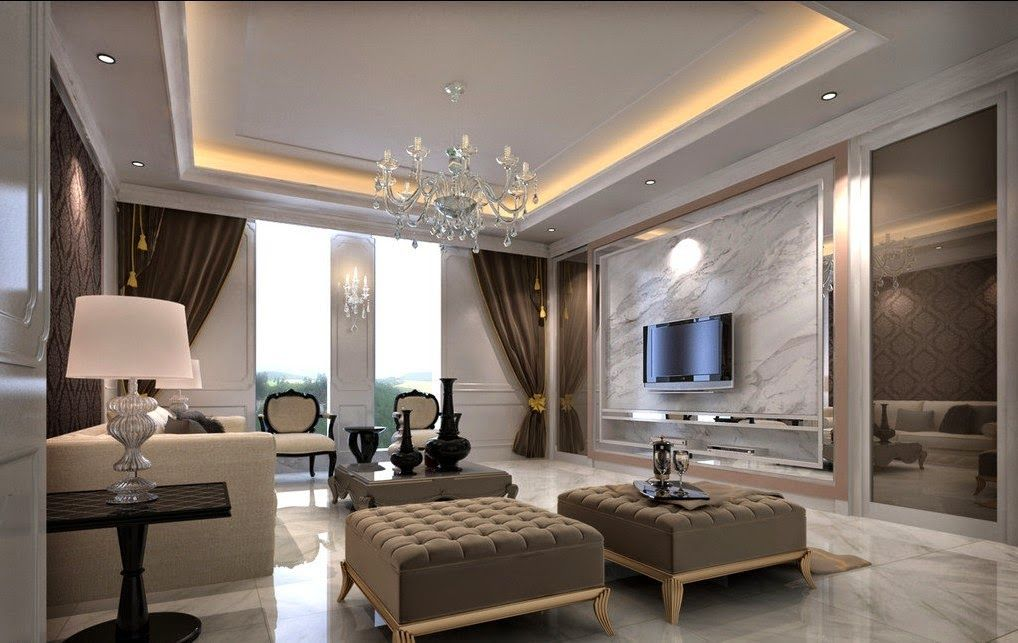 Charmant Living Room: Classic Living Room D Design. Simple Living Rooms, Living Room  With Fireplace Also Living Room Designs. Along With Living Room .