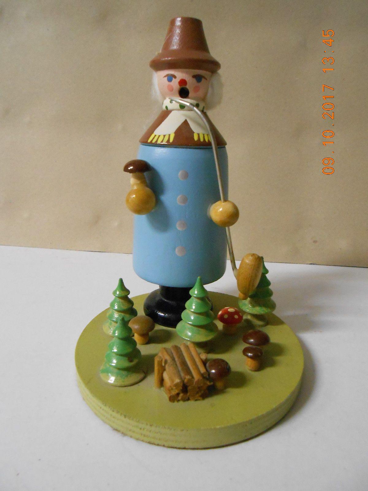 Weihnachtsdeko Seiffen.Räuchermännchen Weihnachtsdeko Seiffen Antiquitäten Kunst