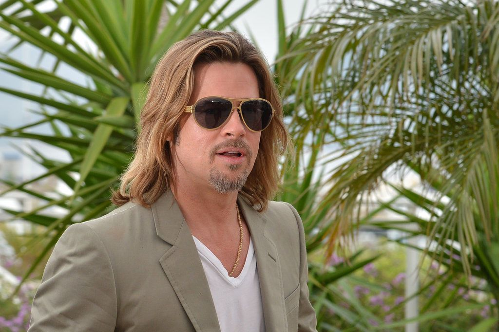 9b318d871d Brad Pitt Sunglasses IC Berlin Bashir Black