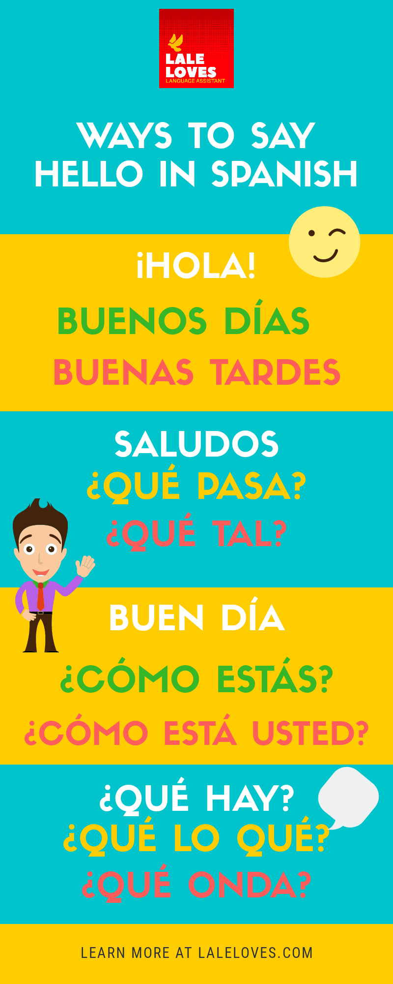 10 Ways To Say Hello In Spanish Say Hello In Spanish Hello In Spanish Ways To Say Hello