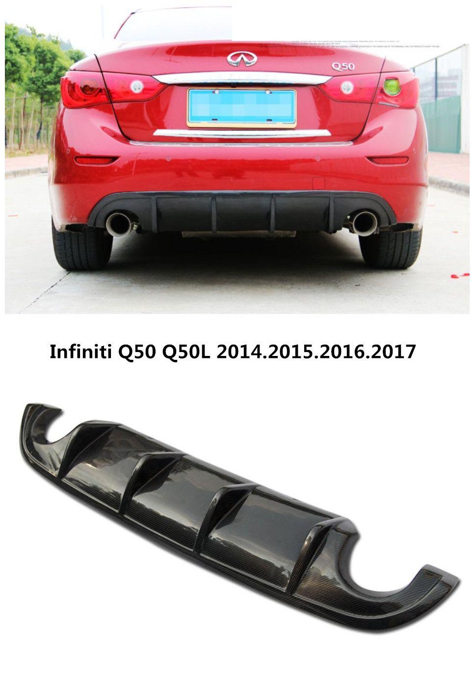 For Infiniti Q50 Q50L 2014.2015.2016.2017 Carbon Fiber