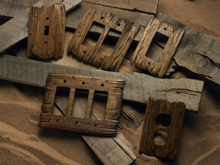 Old West Style Hand Carved Rustic Switch Plates Www