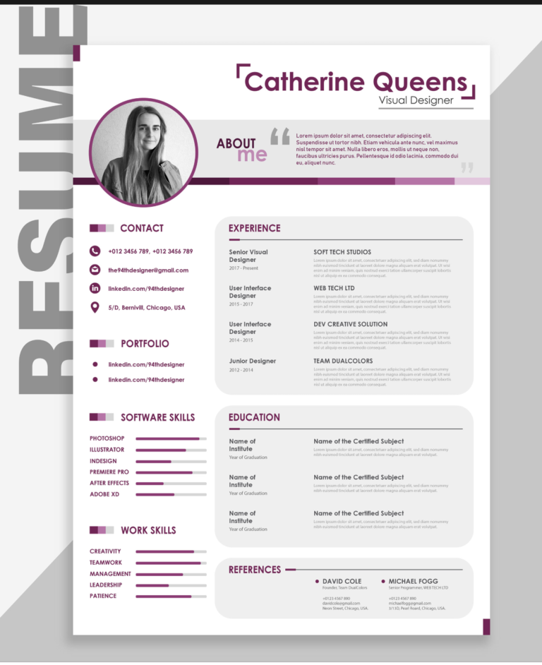 The Best Free Creative Resume Templates of 2019 - Best free resume templates, Downloadable resume template, Creative cv template, Creative resume, Resume template free, Resume template - It's 2019—if you want a new job, you're going to need an eyecatching resume  Here's our curated list of the 21 best free, creative resume templates right now